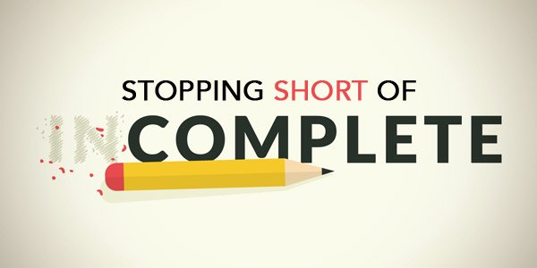 Are You Stopping Short?